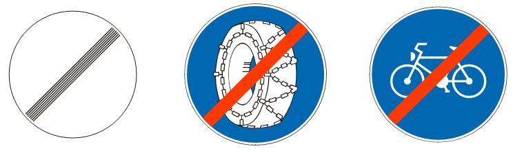 Престанак свих забрана<br>(III-29) (III-29.1) (III-29.2)
