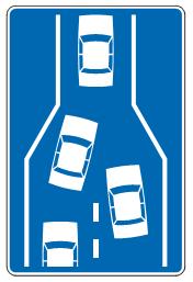 Наизменично  пропуштање  возила<br>(III-84)