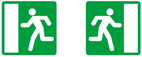 Излаз у случају опасности<br>(III-85) (III-85.1)