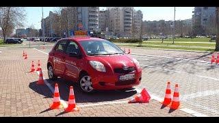 Auto skola - Paralelno parkiranje automobila