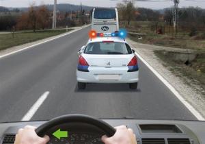 zabranjeno je preticanje vozila pod pratnjom