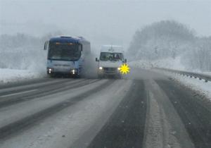 preticanje po snegu