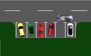 zabranjeno parkiranje vozilo ometa