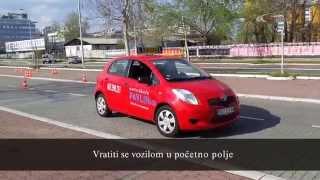 B kategorija, Novi poligon, Auto skola Pavlin