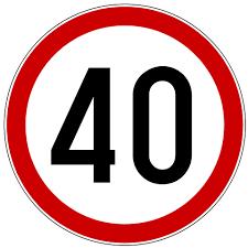 ograničenje 40