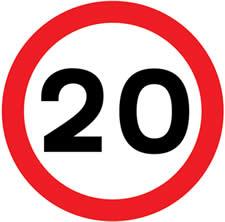 ogranicenje-brzine-20-km-na-sat-auto-skola-pavlin-novi-beograd