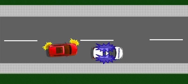 preticanje vozila sa prvenstvom prolaza