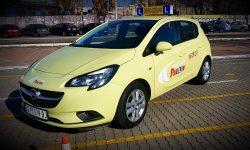 obuka vozaca Opel corsa E